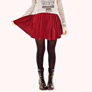 AEROPOSTALE w/ BETHANY MOTA    Pleated Skirt